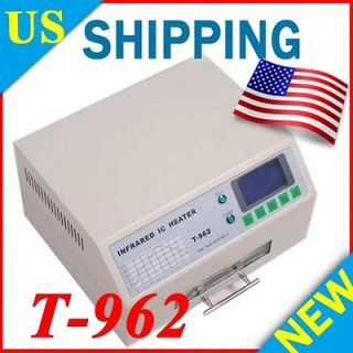 NEW T962 INFRARED IC HEATER REFLOW WAVE OVEN BGA SMD T 962 800W 180