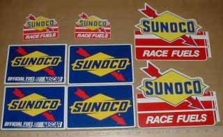 Gas Gasoline Race Fuel Official Nascar Collector sticker decal lot