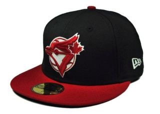 NEW ERA HAT 59FIFTY FITTED 5950 TORONTO BLUE JAYS HAT CAP COOPERSTOWN