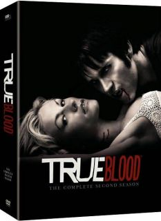 True Blood The Complete Second Season (DVD, 2010, 5 Disc Set)