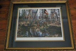 John Paul strain Message for Jackson custom framed print