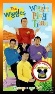 THE WIGGLES Wiggly Play Time (2001) VHS 13 Songs