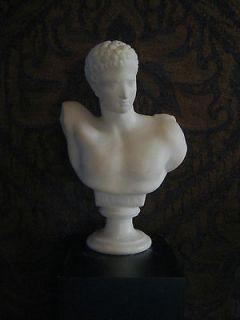 Antique marble statue Classical figure Italian C.1900