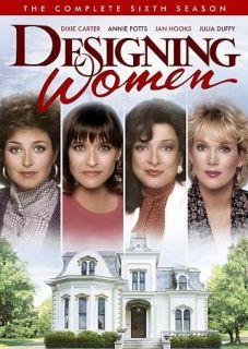 Designing Women The Complete Sixth Season DVD, 2012, 4 Disc Set