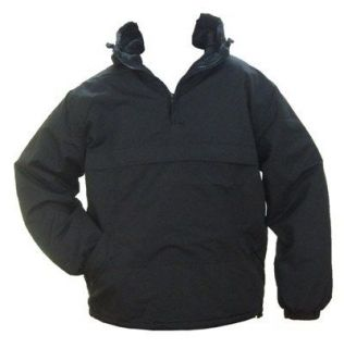 Black Hooded Anorak All Sizes Field Jacket Smock Coat Army Military