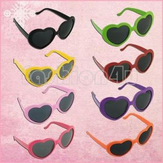 Funny Summer Love Heart Shape Lolita Sunglasses Sun Glasses Gift