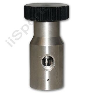 Paintball Coiled Hose Remote Replacement Stainless Steel Tank Adapter