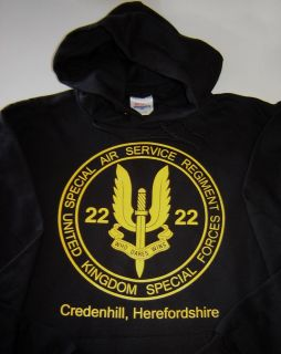 SAS #1 Special Air Service Ops Military New Mens Hoodie