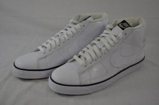 NIKE BLAZER HIGH 315877 114 WHITE HIGH TOP LACE UP ATHLETIC SHOE