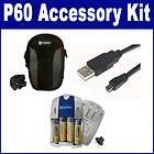 Nikon Coolpix P60 Digital Camera Accessory Kit (USB Cable, Charger