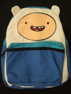 NWT ADVENTURE TIME WITH BOY FINN AND JAKE DOG EARS REVERSIBLE BACKPACK