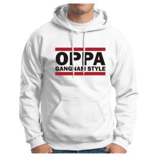 Oppa Gangnam Style Hoodie Sweatshirt PSY kpop Oppan Korean Dance