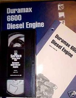 Duramax 6600 Diesel Engine   GM Training 6.6L LB7
