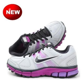 Nike Wmns Air Pegasus 28 Grey Purple Womens Running Shoes 443802 007