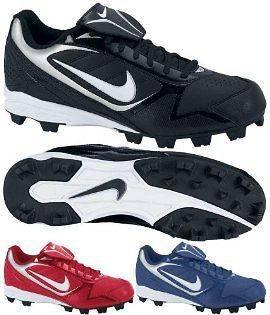 New Nike Keystone Low (BG) Youth Baseball Cleats (375561)