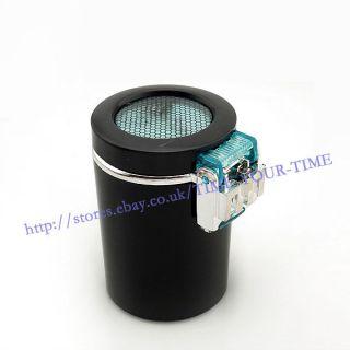 Portable Car Auto LED Light Cigarette Smokeless Ashtray Holder BLACK
