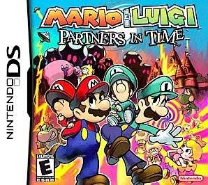 Nintendo DS 3ds DSi lite IXL Mario & Luigi Partners in Time HTF Game