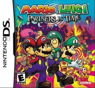 Mario & Luigi Partners in Time Nintendo DS Game