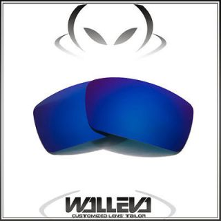 Polarized Ice Blue Replacement Lenses For Oakley Gascan Sunglasses