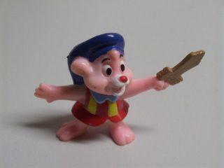 Vintage 90s Miniature PVC Disney Gummi Bears Pink Cubbi Kellogg