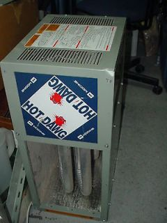 Modine Hot Dawg Hanging Fired Unit Heater 24,000 BTU w/ pipe & hangers