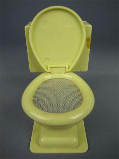 Vintage 1960s Novelty Toilet Seat Transistor Radio