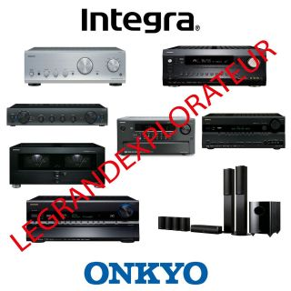Ultimate ONKYO & INTEGRA repair schematics & service manuals