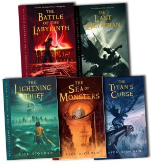 percy jackson book set in Children & Young Adults