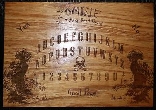 the Talking Dead Board, Dark Gothic Occult Spirit Talking Ouija board