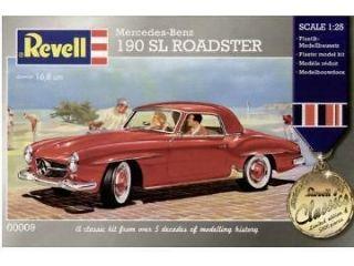 Revell G Germany Mercedes Benz 190 SL ROADSTER model kit 1/25
