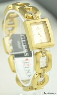 New GuEsS Watch Ladies Steel Gold Old School