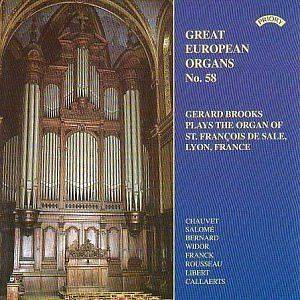 : Great European Organs No. 58/ The Cavaille Coll Organ of St.Fran
