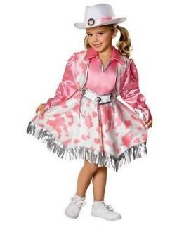 COWGIRL pink outfit WESTERN DIVA girl child kid TODDLER size Halloween