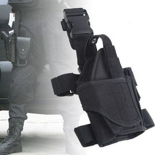 Adjustable Waterproof Tactical Puttee Thigh Leg Pistol Gun Holster