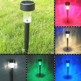 Power Color Changing Yard Path Garden Landscape Light Lamp Outdoor Hot