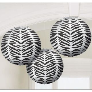 zebra baby shower decorations in Baby Shower