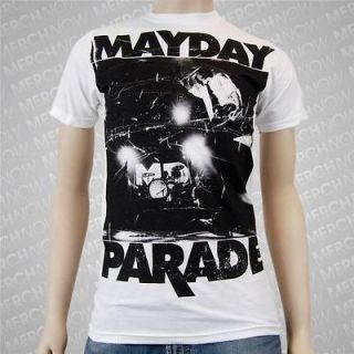 MAYDAY PARADE upstage Soft Fit T SHIRT alesana NEW S M L XL authentic
