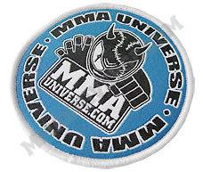 Logo Patch (Small)   Blue   [MMA UFC GI Brazilian Jiu Jitsu Kimono