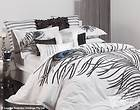 PEACOCK FEATHER Yolanda WHITE 3 Pce KING Size Quilt / Doona Cover Set