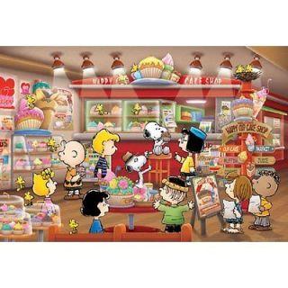 Apollo sha Jigsaw Puzzle 3 797 Peanuts Snoopy Cake Shop (300 Pieces)