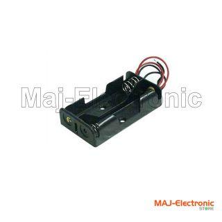 Pcs 2 x AA Battery Holder Clip Box High Quality