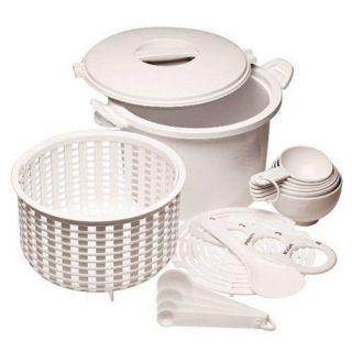 PROGRESSIVE GMRC500 RICE/PASTA MICROWAVEABLE COOKER SET