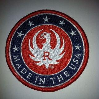 RUGER FIREARMS PHEONIX LOGO PATCH 10/22 .9mm .40 .45 TACTICAL RIFLE