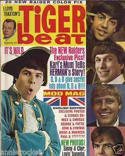 Magazine Special Issue Sept 1966 Dean Paul Martin Jr. Cher Beatles