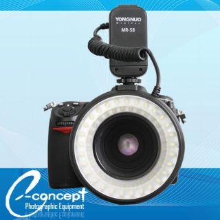 Macro Ring LED Light Flash MR 58 for Canon Nikon Pentax Sigma Olympus
