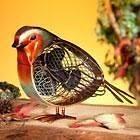 NEW Deco Breeze Small Red Robin Metal Electric Fan