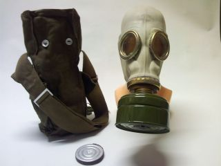 GP 5 Soviet Russian Gas Mask Kit/ Set. RUBBER. Not Issued . ANY SIZE