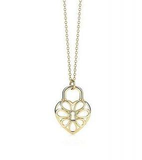 Tiffany & Co. 18K gold Filigree Heart pendant **FOR CHARITY**
