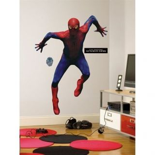 Spiderman   Amazing Spiderman Peel & Stick Giant Removable Wall Decal