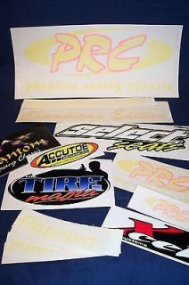 Go Kart Racing NEW Phantom Phenom Racing Chassis PRC DECALS Kit (17